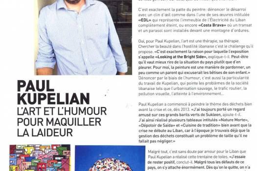 Soraya Hamdan Paul Kupelian, L'Art et l'Humour pour maquiller la laideur