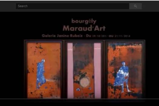 Exposition Maraud'Art 2014 - Interview avec Samira Mounayar