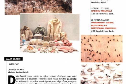 Magazine Le Mensuel - Wiped Off