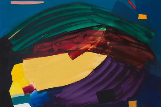 Art, music, and theosophy at Janine Rubeiz
